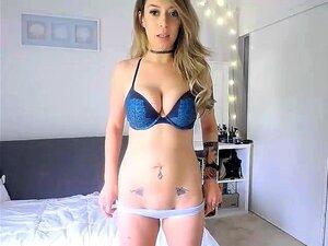 Striptease de tetona rubia Coed HD