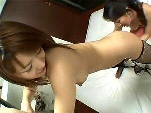 Japon Panty y siembra con lesbianas chupar