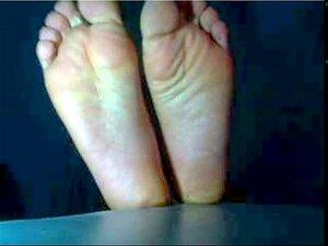 colección de pies de hombre