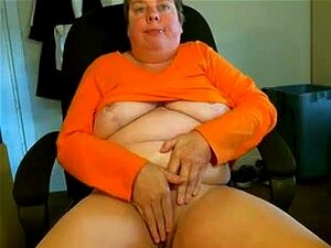 Abuelita Masturb a una Webcam R20, Masturb