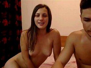 Webcam increible pareja follada y corrida Facial -