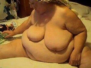 Puta vieja gorda haciendo show webcam sexy,