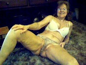 64 años dulce sexy con el pelo largo